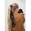 Long tail scrunchie palma girafe
