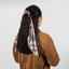 Long tail scrunchie wax fleuri