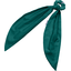 Long tail scrunchie emerald green - PPMC