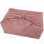 Furoshiki medium 48x48 dusty pink lurex gauze - PPMC