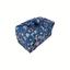 Furoshiki petit 35 x 35 cm fleuri nude ardoise - PPMC