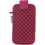Big phone case fuschia spots - PPMC