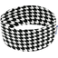 Stretch jersey headband  black and white h2 - PPMC