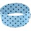 Stretch jersey headband  ciel pois marine g7 - PPMC