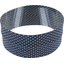 Stretch jersey headband  pois mini gris ciel e8 - PPMC