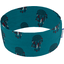 Stretch jersey headband  plume turquoise c5 - PPMC