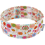 Stretch jersey headband  rosace fleur blanche g6 - PPMC