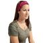 Stretch jersey headband  rosace fuchsia e5