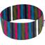 Stretch jersey headband  rayé gris fuchsia bleu c2 - PPMC