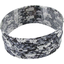 Stretch jersey headband  fleurs noir et blanc e0 - PPMC