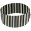 Bandeaux jersey rayé noir gris beige j0 - PPMC