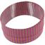 Turbantes elasticos rayé fin fuchsia abricot e4 - PPMC