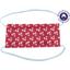 Masque Tissu Enfant cosmo rouge ex1009 - PPMC