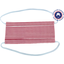 Masque Tissu Enfant ligne blanc rouge ex1002 - PPMC