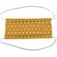 Masque Tissu Enfant octogone jaune ex1004 - PPMC