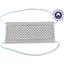 Masque Tissu Enfant pastille blanc gris ex996 - PPMC
