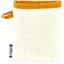 Mini-Gant Démaquillant gaze dentelle ocre