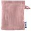 Mini-Gant Démaquillant gaze rose pale - PPMC