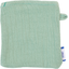Make-up Remover Glove sage green gauze - PPMC