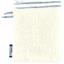 Guante Desmaquillante brillo azul gris a rayas