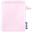 Make-up Remover Glove pink gingham - PPMC