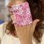 Make-up Remover Glove pink violette