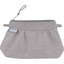 Mini Pleated clutch bag etoile or gris - PPMC