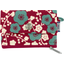 Mini pochette porte-monnaie cerisier rubis jade - PPMC
