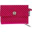 Mini pochette porte-monnaie etoile or fuchsia - PPMC