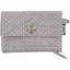 Mini pochette porte-monnaie etoile or gris - PPMC