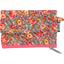 Mini pochette porte-monnaie floral pêche - PPMC