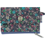 Mini pochette porte-monnaie milli fleurs vert azur - PPMC