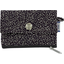 zipper pouch card purse noir pailleté - PPMC