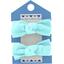 Mousse petit noeud azur  - PPMC