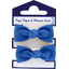 Mousse petit noeud bleu navy - PPMC