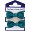 Mousse petit noeud bleu vert - PPMC
