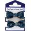 Mousse petit noeud bulle bronze marine - PPMC