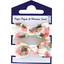 Small elastic bows watercolor confetti - PPMC