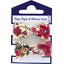 Small elastic bows poppy