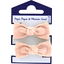 Small elastic bows gauze pink - PPMC