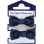 Mousse petit noeud bleu marine - PPMC