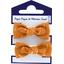 Mousse petit noeud paille dorée caramel - PPMC