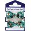 Gomas de pelo con lazos pantera de jade - PPMC