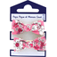 Gomas de pelo con lazos rosado violeta - PPMC
