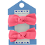 Small elastic bows coral - PPMC