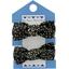 Mousse petit noeud noir pailleté - PPMC