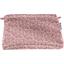 Pochette coton jasmin rose - PPMC