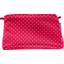 Coton clutch bag red spots