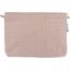 Pochette coton rayures cuivrées - PPMC