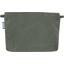 Pochette coton suédine kaki - PPMC